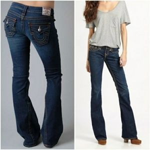 True Religion Flared Bridget Denim Jeans